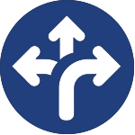 diverging arrows icon for corporate wellness Minneapolis mn