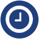 clock icon for coed adult kickball league Minneapolis mn
